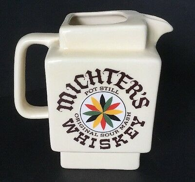 Michter's Whiskey Water Pitcher
