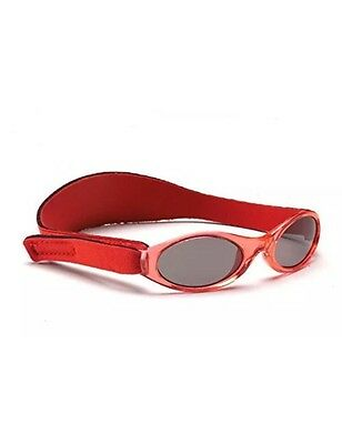 Adventure BanZ Baby Sunglasses, Rockin Red, Infants 0 2 Years