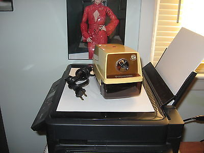 Vintage Panasonic KP-33 Electric Pencil Sharpener w/ Auto-Stop Light Feature