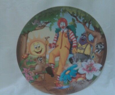 2003 McDpnalds Ronald McDonald And Friends Plastic Collectors Plate