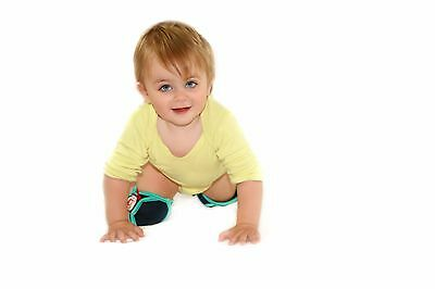 Snazzy Baby Knee Pads - helps your baby to crawl properly on all surfaces