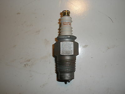 "Vintage NOS Champion ""A-25"" TAP Spark Plug 1/2"" thread Gas Engine Hit Miss"