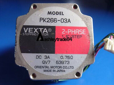 "Used Oriental Motor Vexta Pk266-03A 2-Phase 1.8""/Step Stepping Motor Tested"