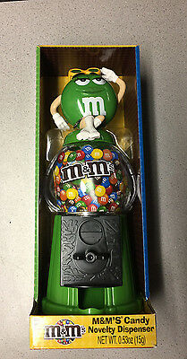 M & M Candy Novelty Dispenser Coin Bank M&m Green Female Boots