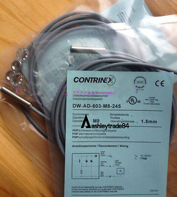 New Contrinex Dw-Ad-603-M8-245 Proximity Switch