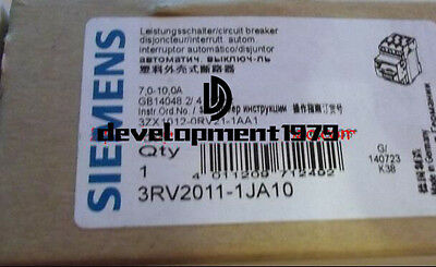 New Siemens 3RV2011-1JA10 Circuit Breaker