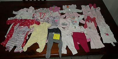 baby girls clothes size 0000