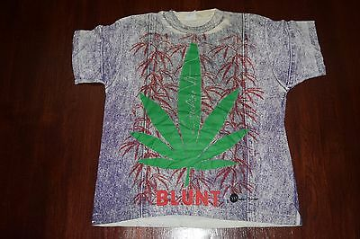 Vintage Blunt Weed T Shirt Size Large L Rare Cool Retro 90s Mosquitohead All