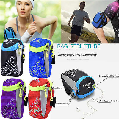 For iPhone6 6S Sports Gym Armband Bag Case Running Exercise Arm Band Pouch