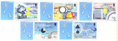 Jersey Signal Sation-Science set 2008 mnh-Weather