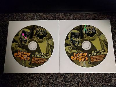 2 Insane Clown Posse (ICP): Blood Redrum CDs SEALED