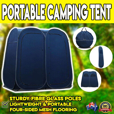 Portable Double Changing Room Shower Tent Camping Toilet Outdoor Shelter Ensuite