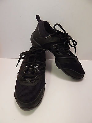Bloch Evolution Dance Hip Hop Shoes Black New Without Box Size 6 Free Fast Ship