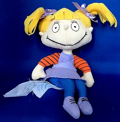 """RUGRATS Angelica Pickles Licensed Applause Beanie Plush  7"""" Nickelodeon 90s TV"""