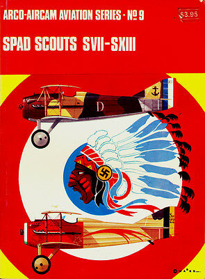 Aircam Aviation Serie N°9 - Spad Scouts S VII - S XIII
