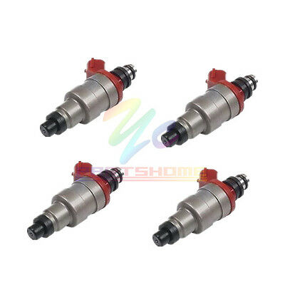 Set of 4 Fuel Injector G609-13-250 For 1990-1994 Mazda B2600 2.6L-L4 G609-13-250