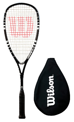Wilson Hyper Hammer 120 PH Power Holes Squash Racket RRP £130 Black or Blue/Whte