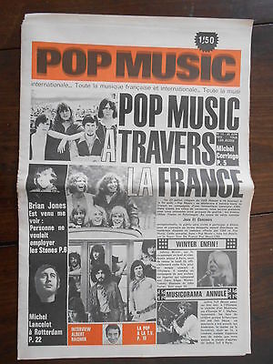 ►Pop Music 13/1970 - Rolling Stones - Johnny Winter - Chris Gallbert - Corringe