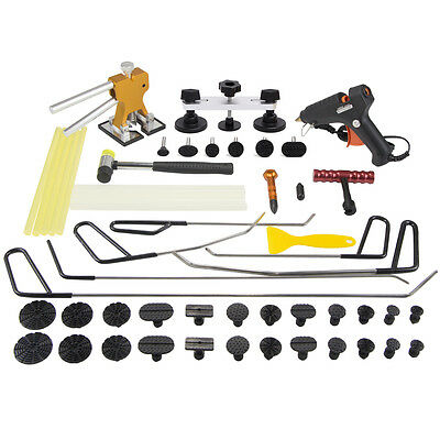PDR Paintless Dent Puller Lifter Tool Repair Hammer Removal Glue Hail Rods Kits