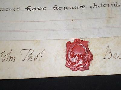 1805 Vellum Indenture, City Of Lincoln & Seals, A-Grade