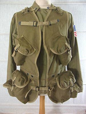 D-DAY INVASION US ARMY WW2 Ranger assault vest L Normandie 1944 / Landungsweste