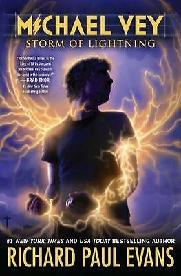 Michael Vey Series Storm of Lightning 5 by Richard Paul Evans NEW Paperback 2016