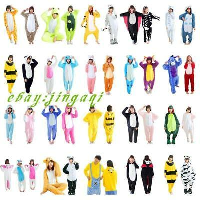 Unisex Adult Pajamas Kigurumi Cosplay Costume Animal Onesi Sleepwear Suit