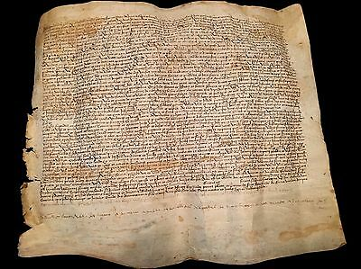 Parchment In Latin 1472