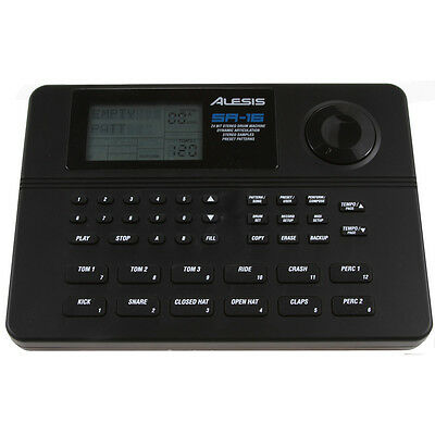 **BRAND NEW**  Alesis SR16 Drum Machine SR-16 24-bit Classic Stereo Drum Machine