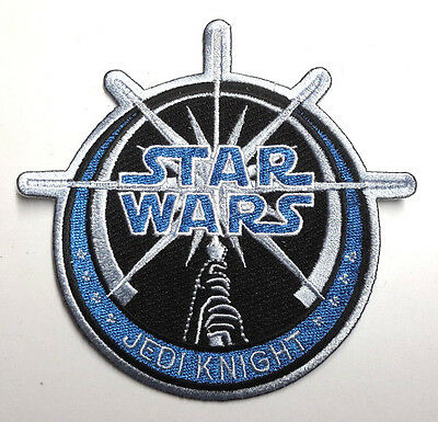 """Star Wars Jedi Knight Large 4""""  Embroidered Patch-FREE S&H (SWPA-FC-01)"""