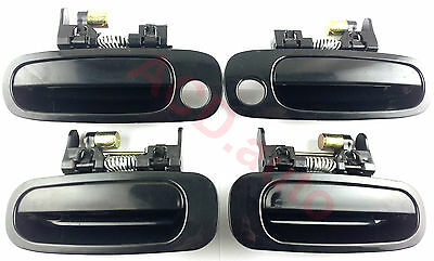 Fit For toyota corolla 98-02 Outside Door Handle Front Rear Left Right 4PCS NEW