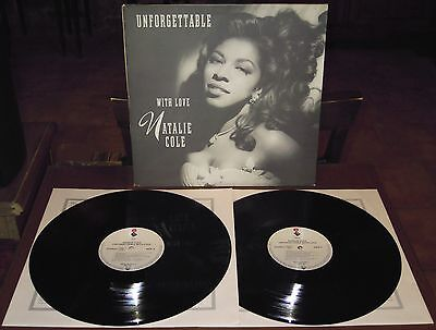 2LP NATALIE COLE Unforgettable with love (Elektra 91 EUROPE) soul jazz Nat NM!