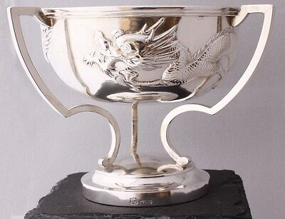 Wang Hing Chinese Silver Dragon Trophy Cup WH90. The Blackheath Cup 1914
