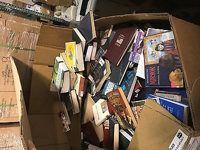 Lot of Library Books (atleast 1000s of them) Mixed Lot of all genres