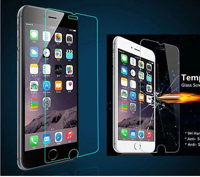 "Premium Screen Protector Real Tempered Glass Film for Apple 5.5"" iPhone 6,6 Plus"