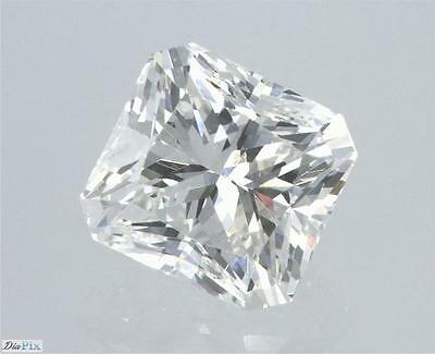 Radiant Natural Loose Diamond 100% Real 1.01 Carat G VS1 GIA Cert SEE VIDEO