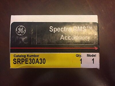 Ge Spectra Rms Rating Plug - Srpe30A30 - New In Box