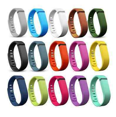 Large/ Small Replacement Wrist Band w/Clasp For Fitbit Flex Bracelet Free Ship