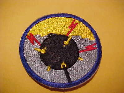 Certified Ww2 United States Navy Mine Craft Personnel Patch