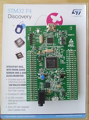 STM32 F4 DISCOVERY Kit for STM32F407