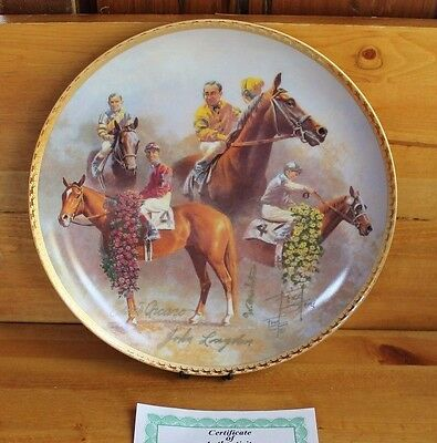 1937-1946 AMERICAN TRIPLE CROWN Plate Gold Signature Ed. - Fred Stone & More