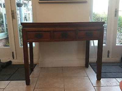 Antique Chinese Elm Console Table , C.1900