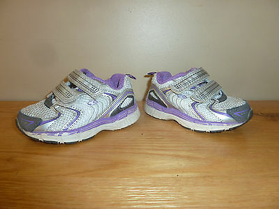 Toddler Girls Shoes Size 5 Champion C9 Purple Silver White Athletic Tennis