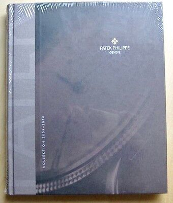 Original Patek Philippe - Kollektion 2009-2010 Katalog Buch NEU OVP sealed Cover