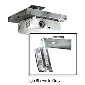 Universal Projector Security Mount, Key-Locking, White