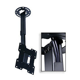 """Universal Ceiling Mount For 15""""-37"""" Screens, 14""""-22"""" Extension - Black"""