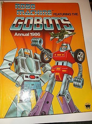 Vintage Robo Machine featuring the Gobots Annual 1986