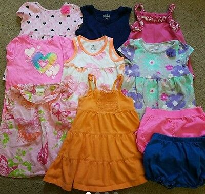 Baby Girl Summer Clothes Lot Size 24 Months