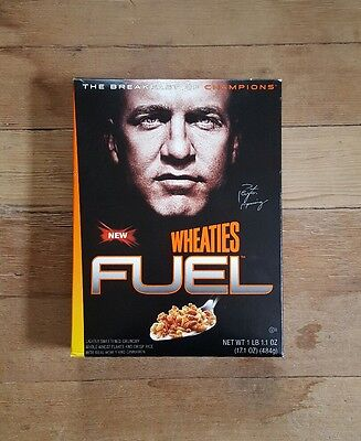 Wheaties Fuel Peyton Manning Full Unopened Box Breakfast Cereal