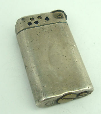 Vintage Sterling Silver SUPER Made In Canada Lighter E2588